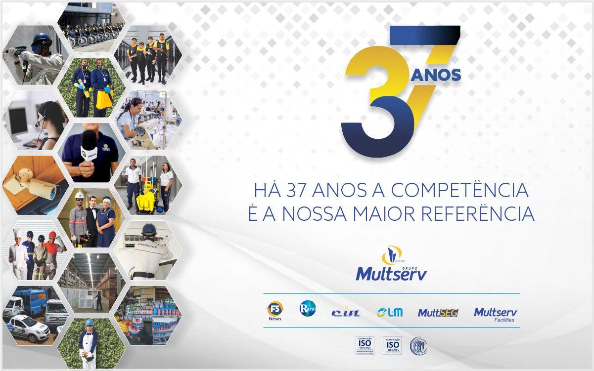 Grupo Multserv completa 37 anos